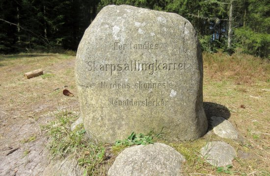Mindesten for Skarpsallingkarret