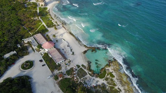 Caleta Tankah Tulum: General view of the grounds