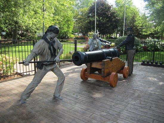 Amherstburg, Canadá: Kings Navy Yard Park