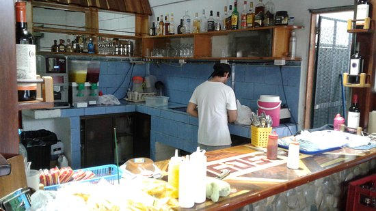 Playa Matapalo, Costa Rica: Open kitchen