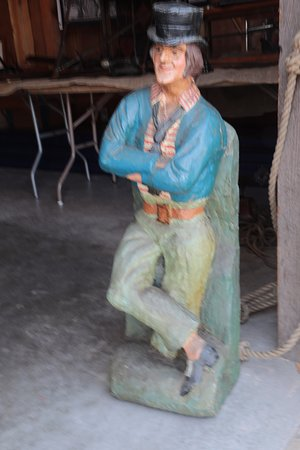 Dana Point, Kalifornien: CARVED MAN