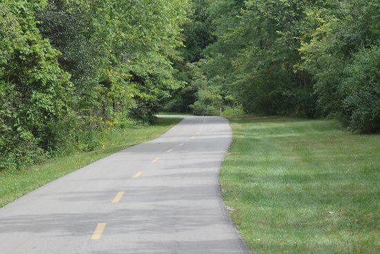 New Boston, MI: Bike trail