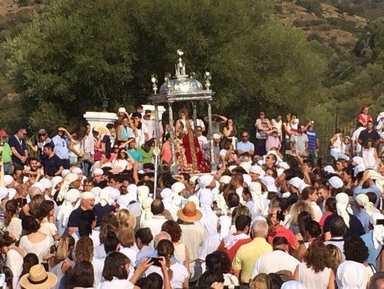 Lora del Río, España: Romería de Nuestra Señora de Setefilla, 08 de Septiembre de 2017