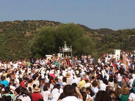 Lora del Rio, Spain: Romería de Nuestra Señora de Setefilla, 08 de Septiembre de 2017