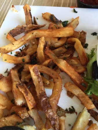 Arnold, MD: Fries were greasy & nasty
