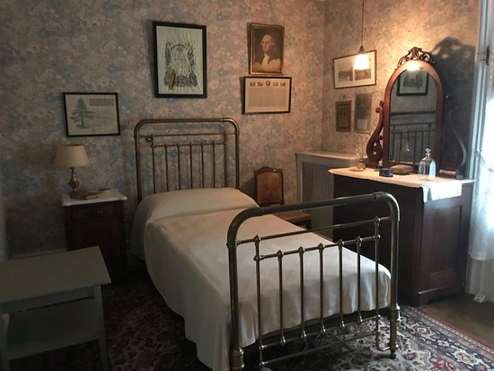 ‪‪Hyde Park‬, نيويورك: FDR's bedroom as a youth‬