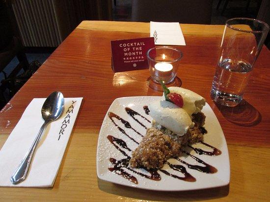 Yamamori Sushi: banoffee pie