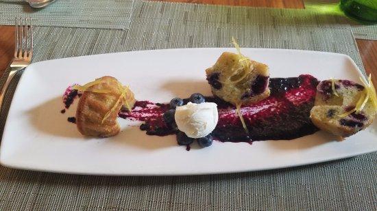 Kingston, Nueva Jersey: blueberry and zuchini muffin, must order