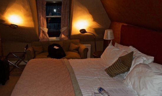 The Studio Room No Overhead Lighting Corner Lamps Instead Picture Of Roman Camp Hotel Callander Tripadvisor