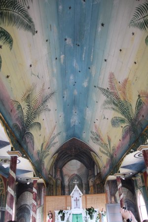 The Painted Church: Ceiling