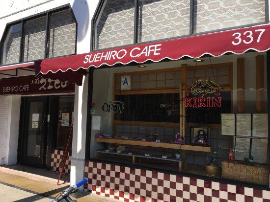 Suehiro Cafe  E St St Los Angeles Ca