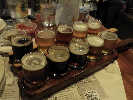 Great Barrington, MA: Beer selections.