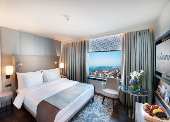 Corner Sea View Room at The Marmara Taksim