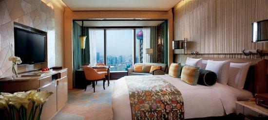 The Ritz-Carlton Shanghai, Pudong : King Guestroom