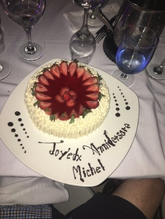 "Club Med Turkoise, Turks & Caicos: Fabulous ""bal en blanc"" with Kiana our great waitress and the birthday cake we ordered for my da"
