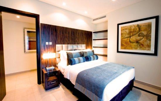 Bonnington Jumeirah Lakes Towers: Apartment Bedroom at Bonnington Jumeirah Lakes