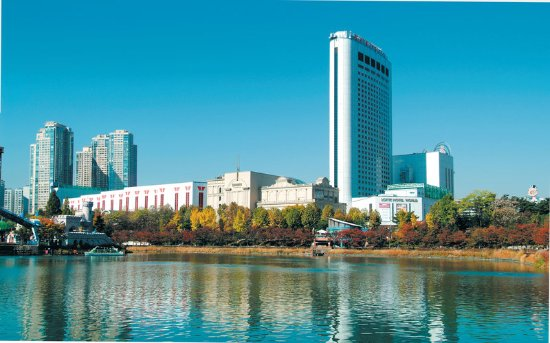Lotte Hotel World : Exterior View