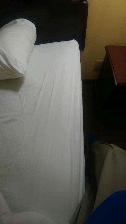 Baymont Inn & Suites Montgomery South: Dingy Sheets