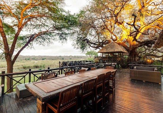 Skukuza, جنوب أفريقيا: Outdoor Patio