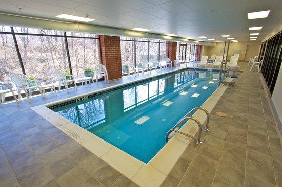 Tunkhannock, بنسيلفانيا: Indoor Pool