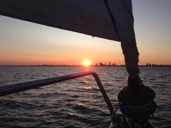 Gone Sailing Adventures: september sunset in TO