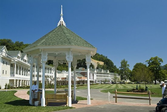 Bedford, PA: Gazebo on the Old Course