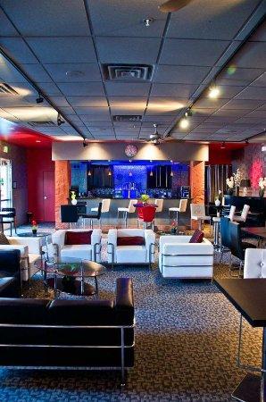 Inside Lounge Picture of Hilton Garden Inn Salt Lake City Airport