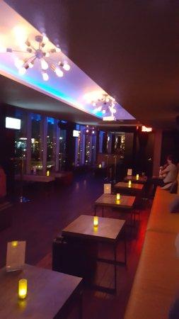 Wyndham Garden Chinatown: rooftop lounge