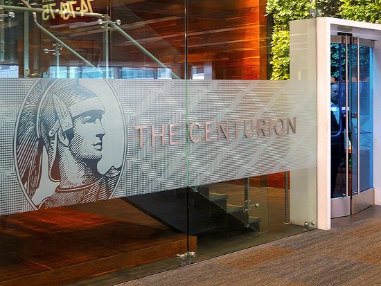 San Bruno, CA: AMEX Centurion Lounge SFO - Entrance in T3