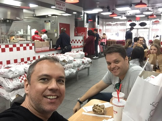 Photo of Five Guys Burgers & Fries in New York, NY, US