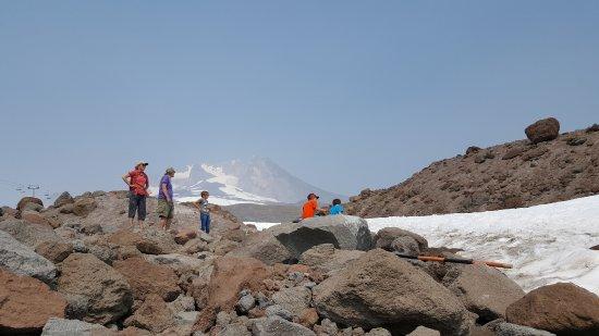Government Camp, ออริกอน: Área de nieve