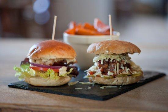Wittersham, UK: Sliders-mini burgers for children