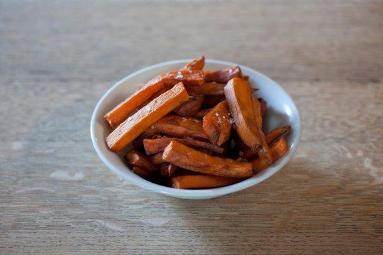 Wittersham, UK: Sweet potato chips...
