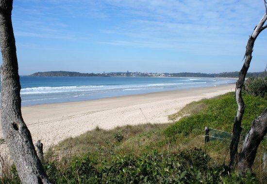 Arrawarra, Australie : Access to the beach from the Lorikeet.