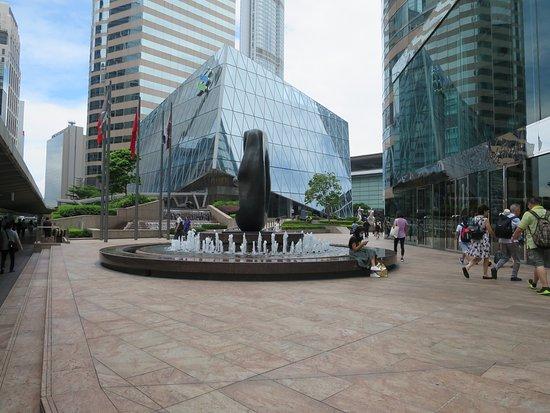 交易広場の噴水 - 香港、交易廣...