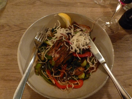Sorrento, Australia: Asian barramundi special