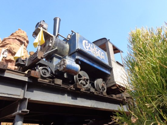 Buena Park, CA: Calico Mine traun ride locomotive
