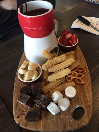 West Lakes, ออสเตรเลีย: Churros platter