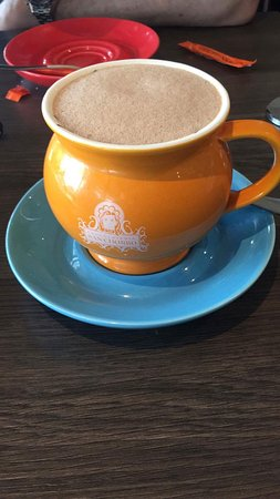 West Lakes, ออสเตรเลีย: Hot chocolate