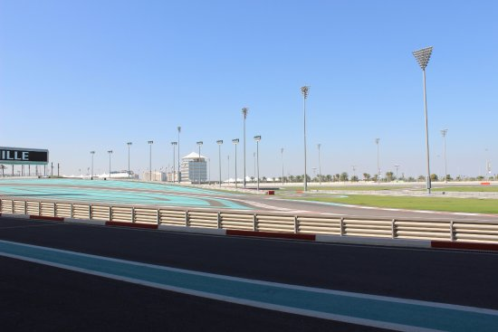 Yas Marina Circuit: It's nicer than this picture