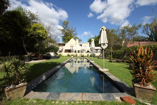 Greyton, South Africa: Our outside pool area