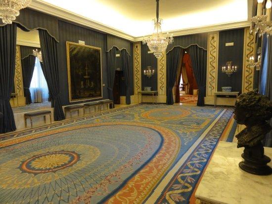 Teatro Real: salle de réception