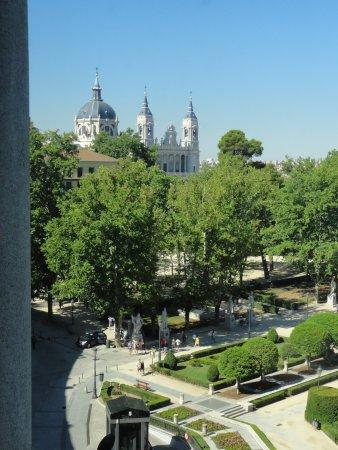 Teatro Real: vue depuis la terrasse