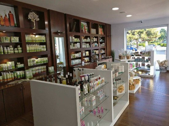 Pyla, Chipre: Natural Cosmetics