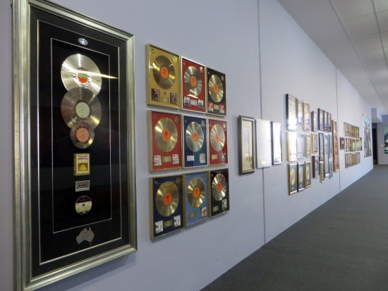 Kempsey, Australia: some of the gold and platinum records