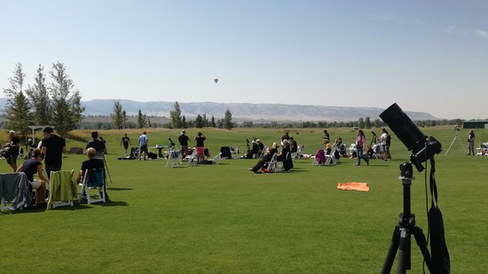 Three Crowns Golf Club: just before great eclipse 21st august 2017