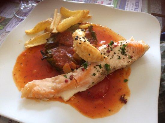 Le Clos de la Bussiere : poisson à la provençale