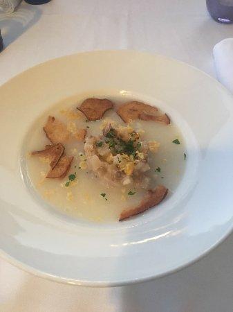 Riso Risottoria del Mundo : Suppe mit Parmesan & Birne