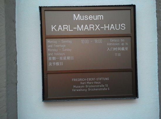 Karl Marx House : Karl Marx Haus Trier