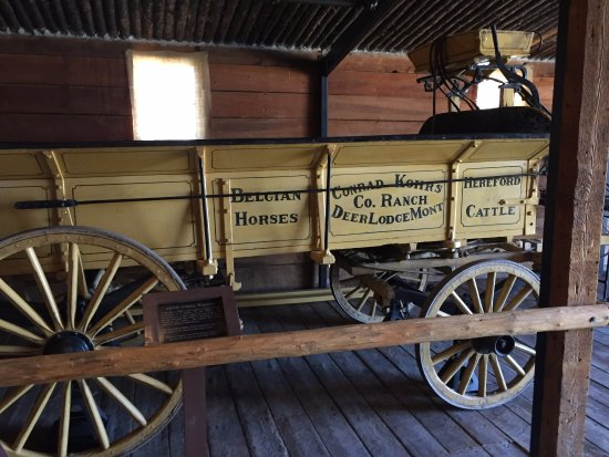 Grant-Kohrs Ranch - National Historic Site: Supply Wagon
